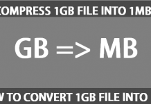 Compress or convert 1GB file into 1MB