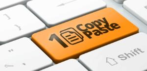 Copy/Paste Shortcut